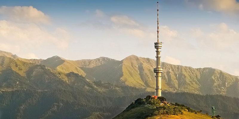 Радиотелевизионная башня в Алма-Ате
