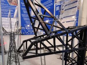 Выставка Металлоконструкции 2021 макет ЛЭП